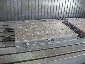 Elektro Permanent Magnetspannplatte